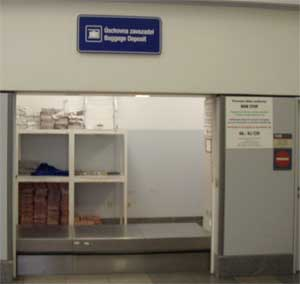 Left baggage facilities